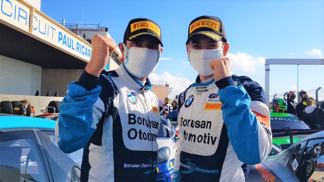 Borusan Otomotiv Motorsport Pilotları Cem Bölükbaşı ve Yağız Gedik Avrupa İkincisi