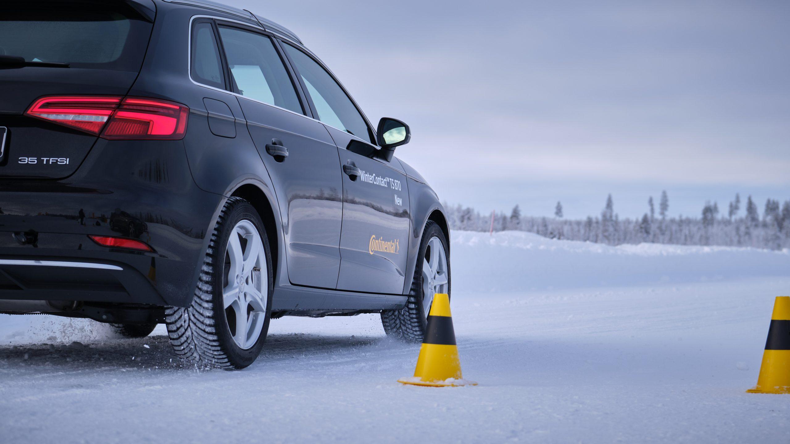 Continental'den güvenli sürüş için kış lastikleri